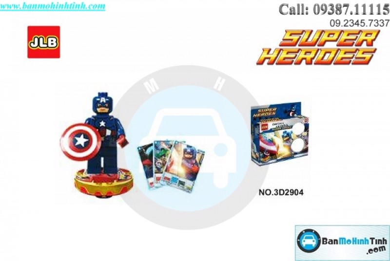 SUPER HEROES (CAPTION AMERICA) NO.3D2904 JLB