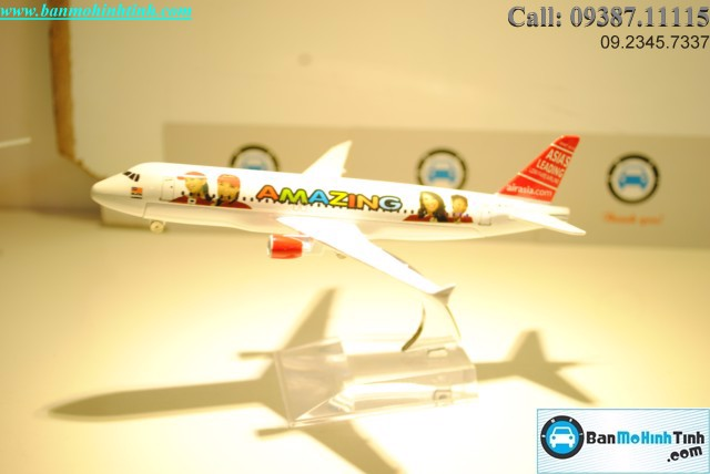 Mô hình máy bay A320 Asia Beautiful Girls Everfly 16cm