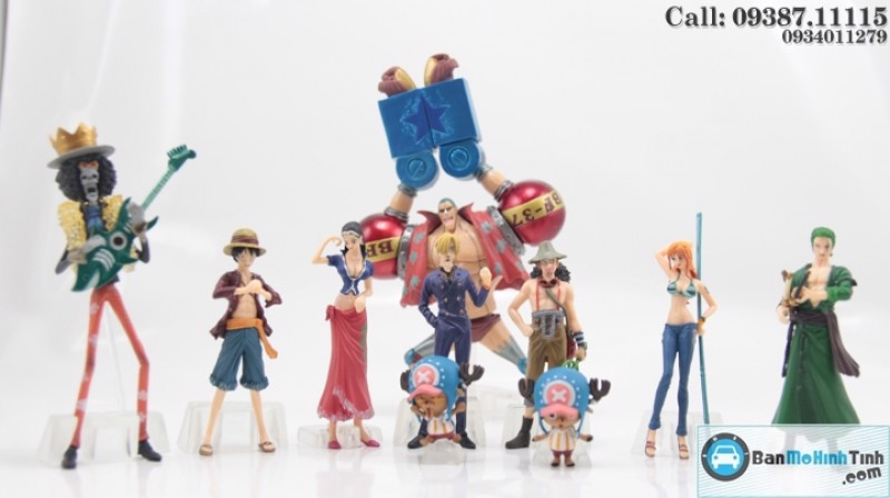 MÔ HÌNH ONE PIECE SET NEW WORLD BY BANDAI