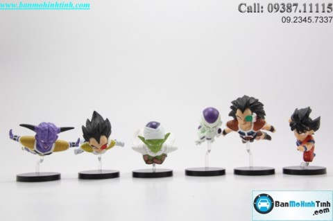 MÔ HÌNH DRAGON BALL Z CHIBI 3542-06 BANPRESTO SET B
