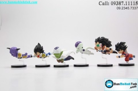 MÔ HÌNH SET CHIBI DRAGON BALL Z SERIES VOL.1 BANPRESTO