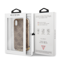 (G7) Ốp lưng Guess - Charms Collection (iPhone X/XS)