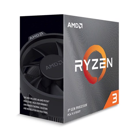 AMD Ryzen 3 3100 (3.6GHz turbo up to 3.9GHz, 4 nhân 8 luồng, 16MB Cache, 65W)