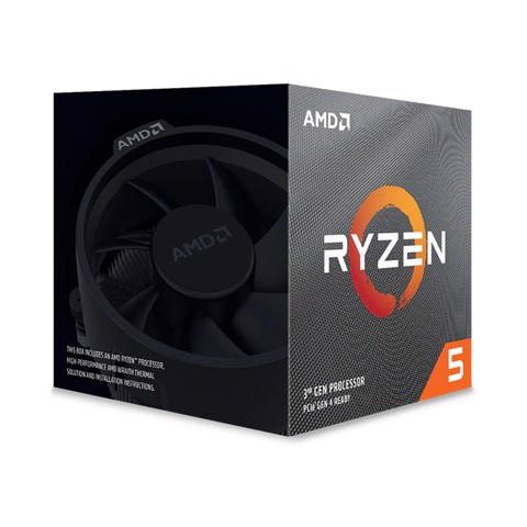AMD Ryzen 5 3600XT (3.8 GHz turbo upto 4.5GHz / 35MB / 6 Cores, 12 Threads / 95W)