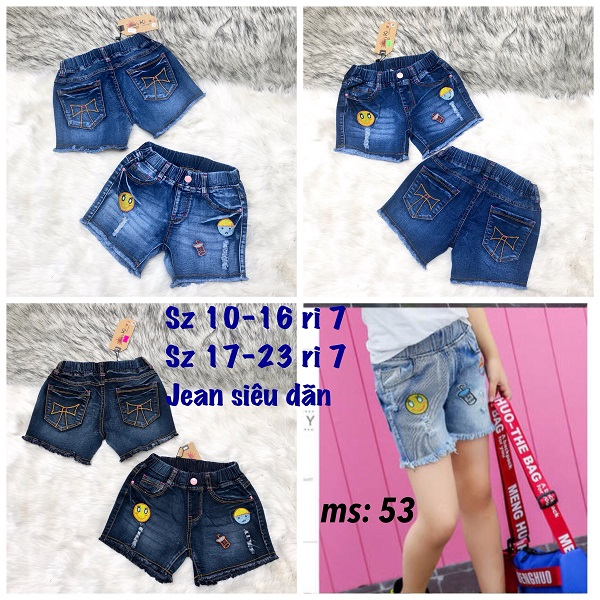 quan short jean be gai
