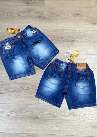 Short jean đùi KIDSTYLE COTTON