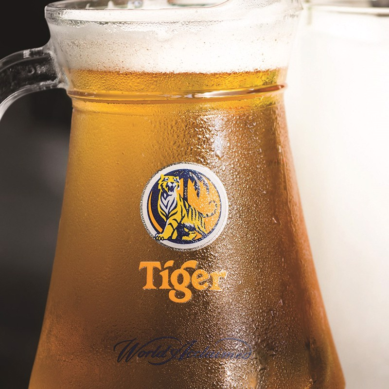 Bia tươi Tiger - Tiger draft beer