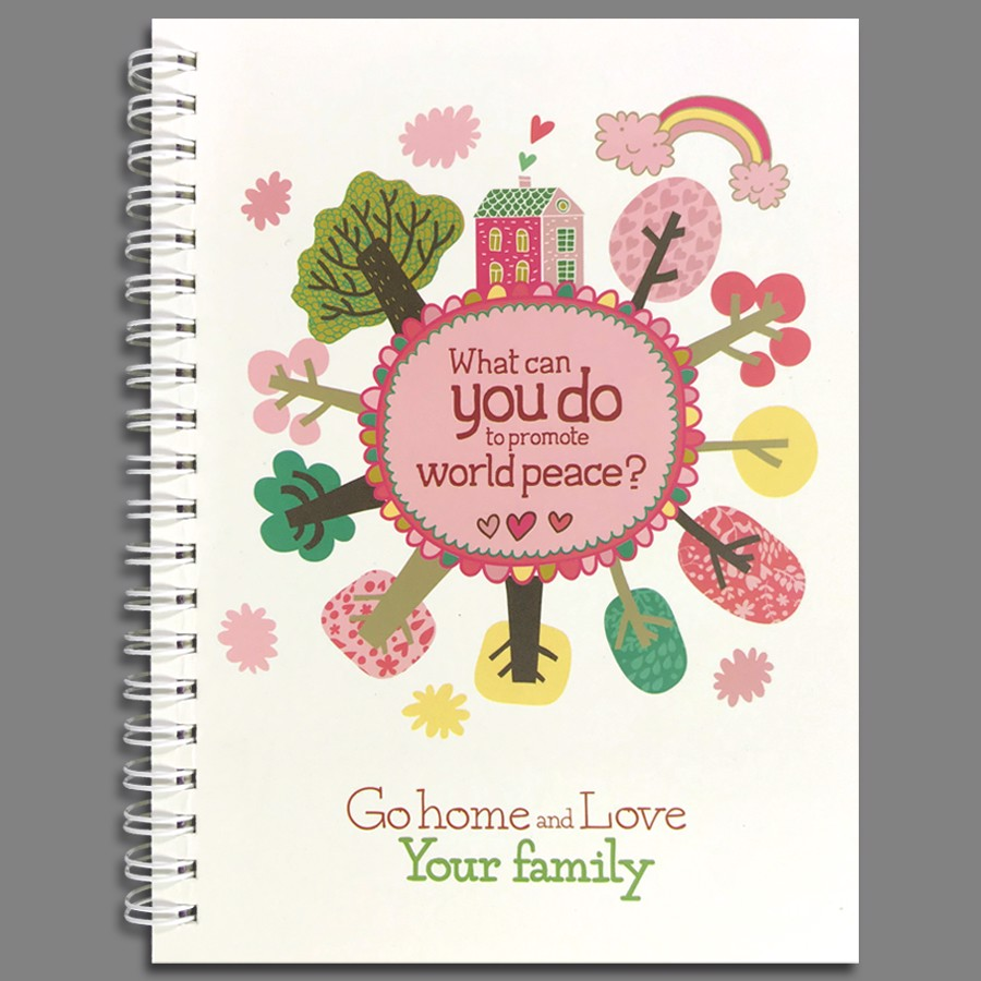 Notebook - Go Home And Love Your Family