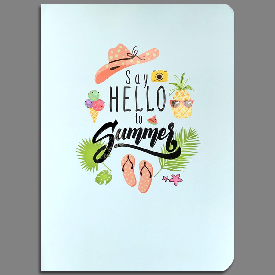 Notebook - Say Hello To Summer