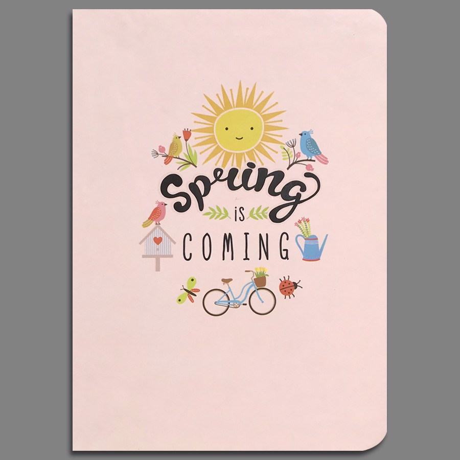 Notebook - Spring Is Coming