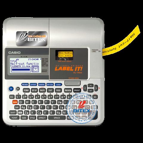 May Tinh In Nhan Casio Kl 7400 Bitexshop