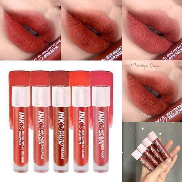 Peripera Son Tint Ink Matte Blur 04 Passion Apple 3,8g