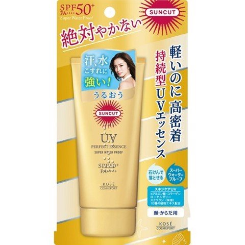 Kose Kem Chống Nắng Cosmeport Suncut UV Essence Super Water Proof