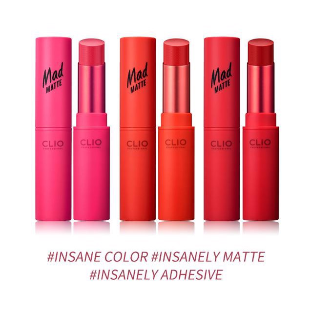 Clio Son thỏi Mad Matte Lips 12 Perky Rose 4,5g