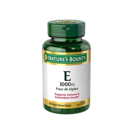 Nature Bounty- Vitamin E 60v