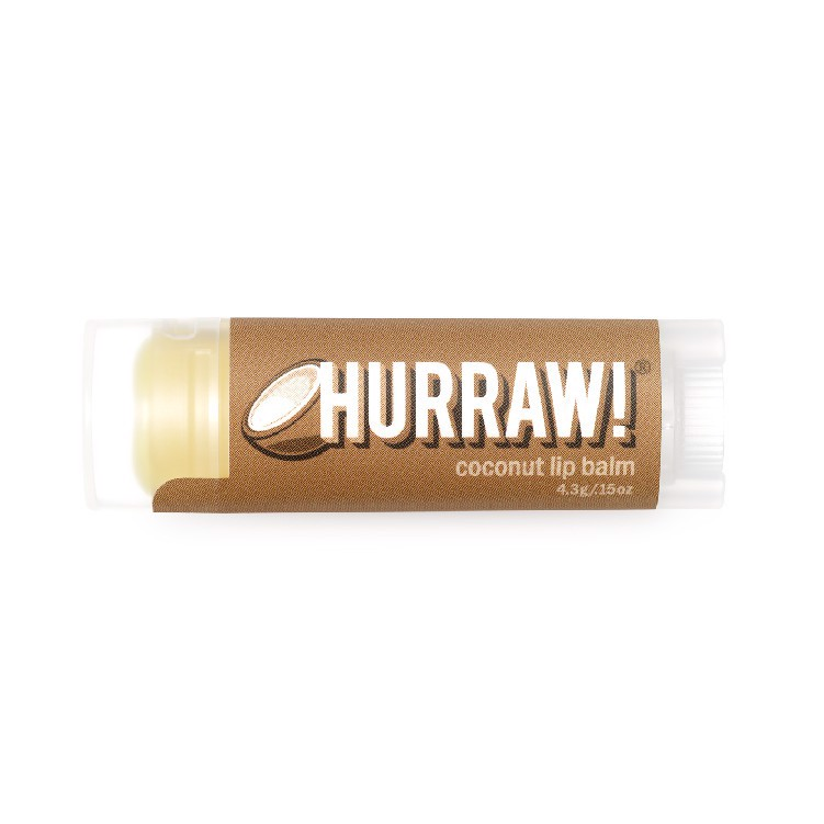 Hurraw Son dưỡng Chocolate Lip Balm 4,8g