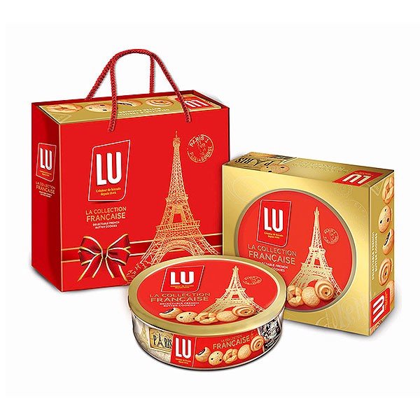 LU-Lu Assorted Cookies 310g x 12 hộp