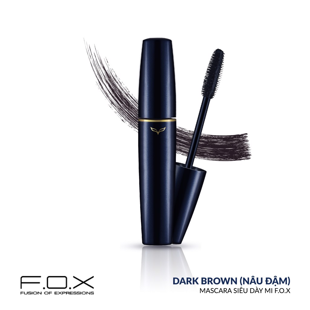 FOX Mascara siêu dày mi Volume FV01 8ml