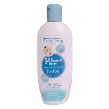 Evoluderm GEL TẮM GỘI BÉ HAIR AND BODY WASH 250ml