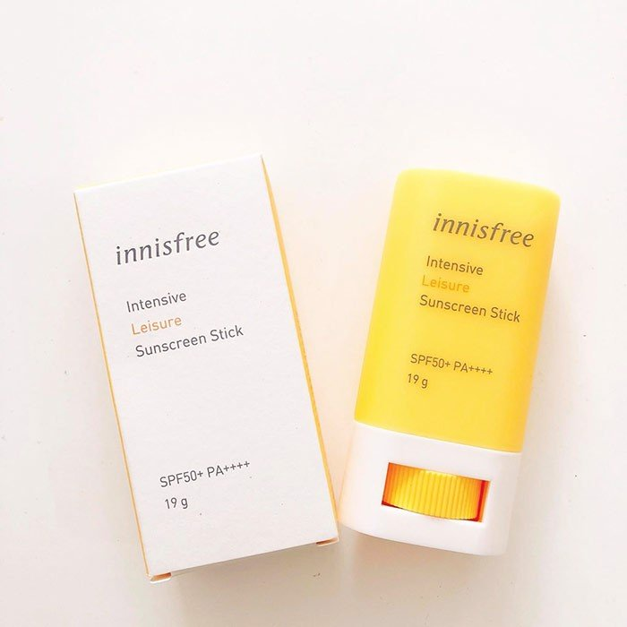 Innisfree Kem chống nắng dạng thỏi Intensive Leisure 19g