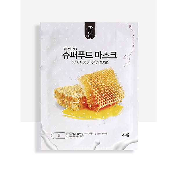 Nohj-  Mặt nạ mật ong  SuperFood Honey 25g