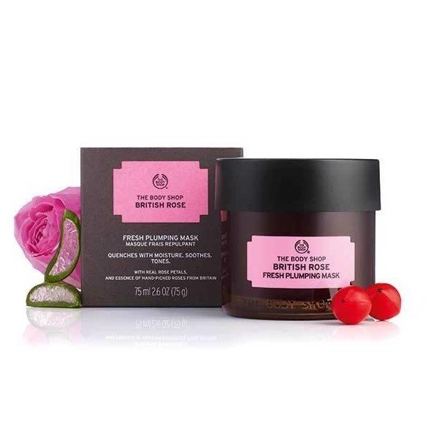 The Body Shop- Mặt nạ British Rose 75ml