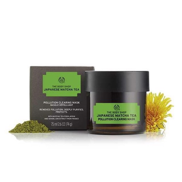 The Body Shop- Mặt nạ đất sét Japanese Matcha Tea 75ml
