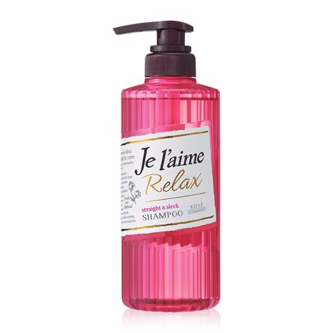 Kose Dầu Gội Cosmeport Je L'aime Relax Treatment Straight and Sleek WTGA 500ml