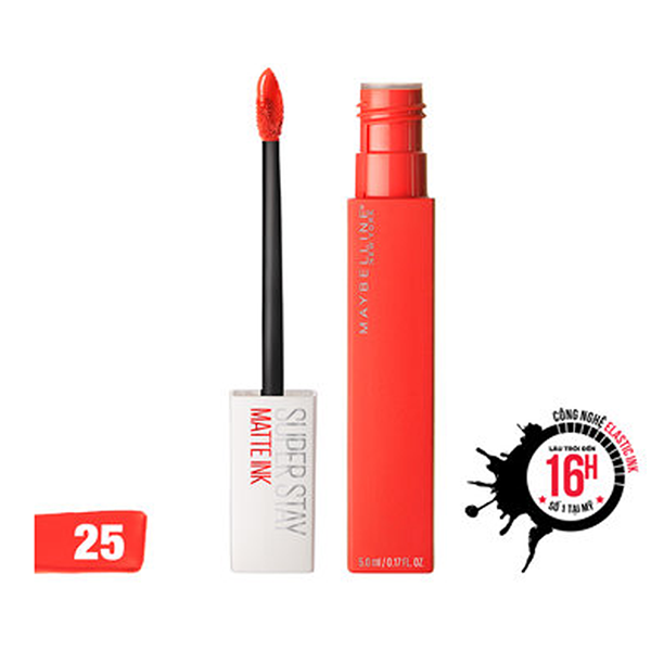 Maybelline- Son kem lì Super Stay Matte Ink số 25 10ml