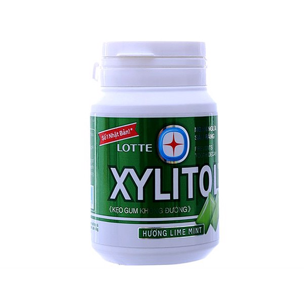 Xylitol Hủ- LimeMint 58g  (New)