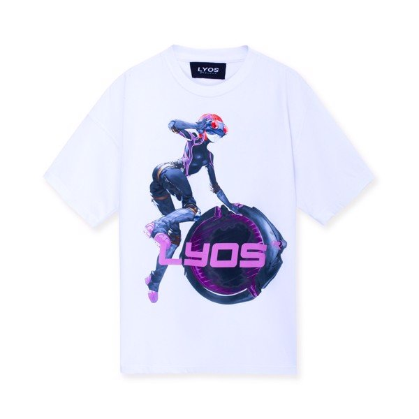 Myopic T-Shirt ( White )