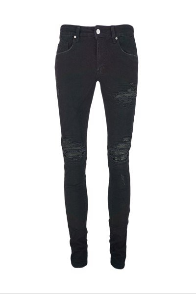 Black Rough LP&W Jeans (J14)