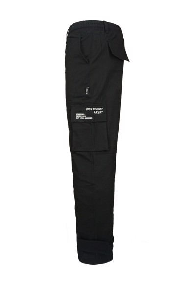 Logo Visual Cargo Pants