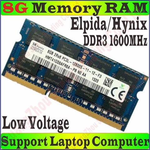 Ram Laptop 8Gb DDR III