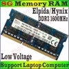 DDRAM III 8GB PC 3L Bus 1600