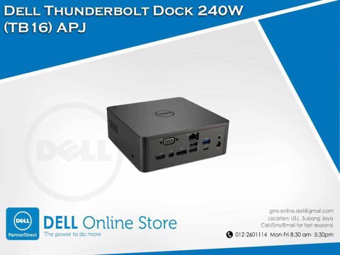 Dell Business Thunderbolt Dock TB16 với Adapter 130W