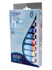 H20 Water Mixable Oil Paint Intro Set 8pce x 18ml