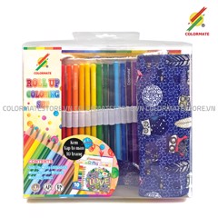 Roll Up Coloring Set