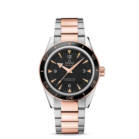 Đồng hồ Omega Seamaster 300 Master Co-Axial Sedna Gold 233.20.41.21.01.001