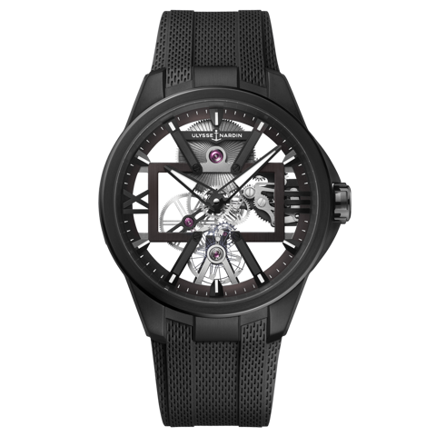 Ulysse Nardin Executive Skeleton X Black Titanium