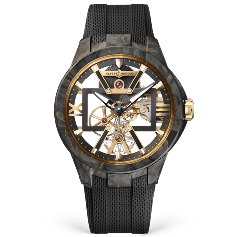 Ulysse Nardin Executive Skeleton X Carbonium Gold