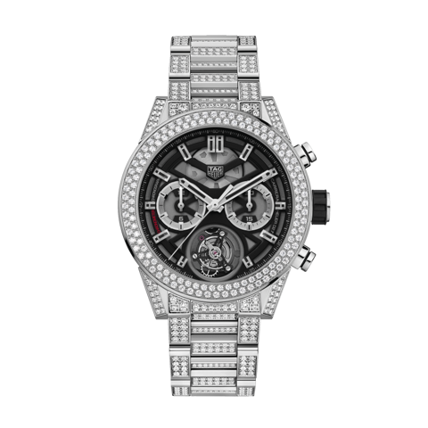 Đồng Hồ TAG Heuer Tourbillon Carrera Calibre Heuer 02 Full Diamond CAR5A1Z.BA0510