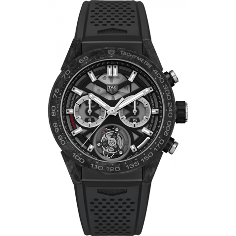 Đồng Hồ TAG Heuer Tourbillon Carrera Calibre Heuer 02 Matte Black CAR5A8W.FT6071