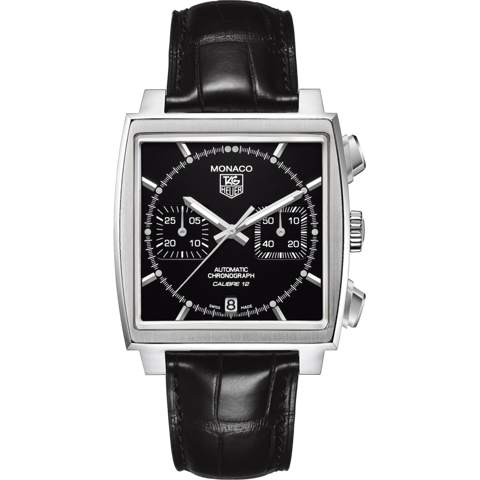 Đồng Hồ TAG Heuer Monaco Calibre 12 Automatic Chronograph CAW2110.FC6177