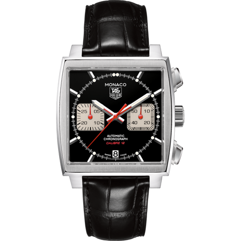 Đồng Hồ TAG Heuer Monaco Calibre 12 Automatic Chronograph CAW2114.FC6177