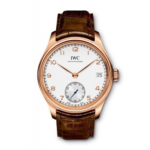 Đồng hồ IWC Portugieser  Hand Wound Eight Days 18K Gold IW510204
