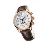 Đồng hồ Longines Master Collection Chronograph Moonphase vàng hồng L2.673.8.78.3