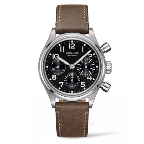 Đồng hồ Longines Avigation Big Eye L2.816.4.53.2