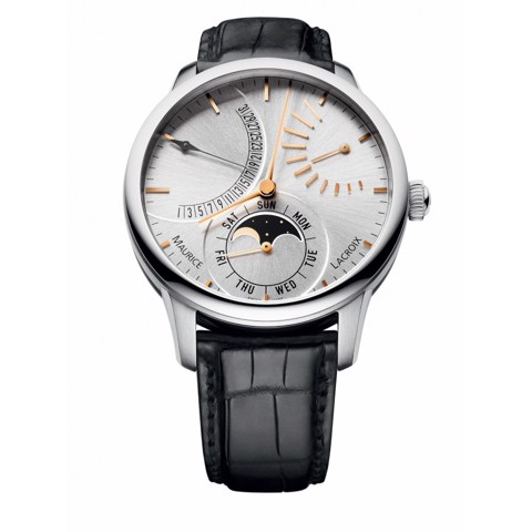 Đồng hồ Maurice Lacroix Masterpiece Lune Retrograde MP6528-SS001-130-1