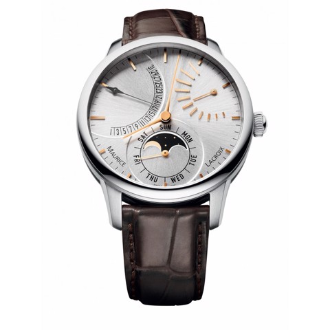 Đồng hồ Maurice Lacroix Masterpiece Lune Retrograde MP6528-SS001-130-2